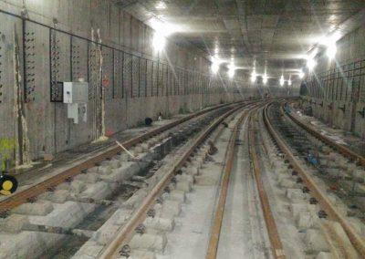 Отстраняване на течове в тунел